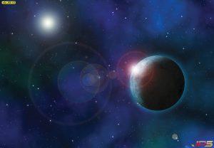 ภาพดวงดาวในอวกาศ