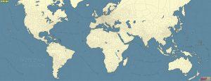 ภาพดาวเทียมแผนที่โลก