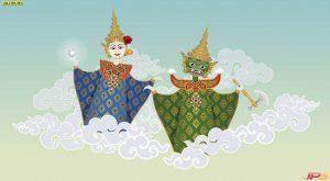 ภาพการ์ตูนไทย-11