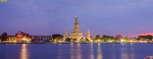 ภาพถ่ายเมืองริมแม่น้ำเจ้าพระยา